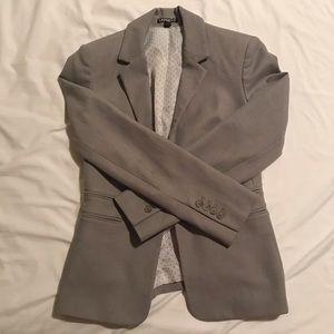 Express Light Grey Blazer